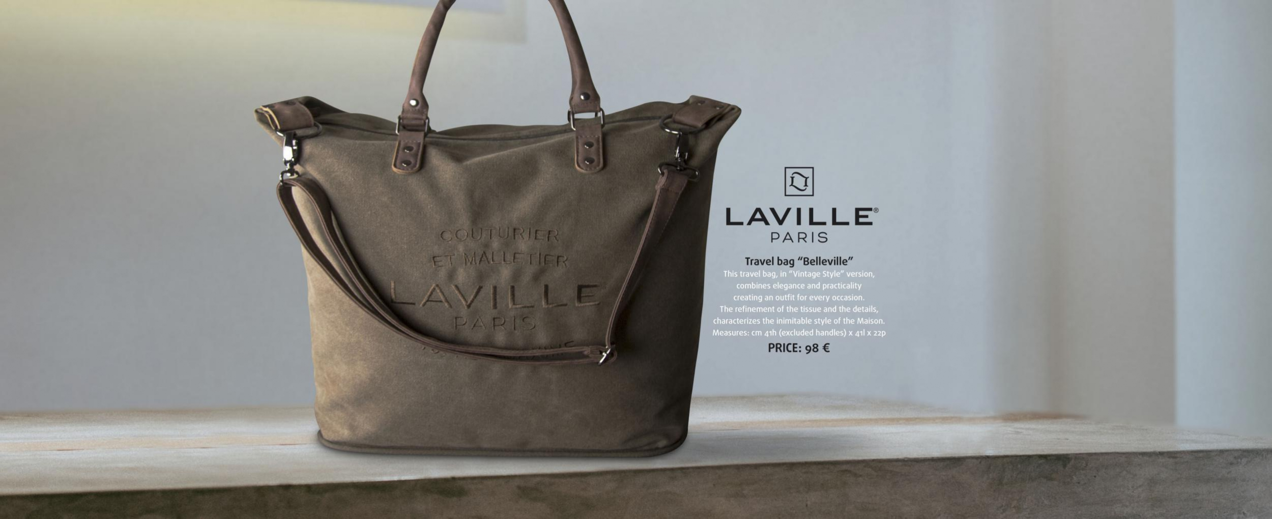 "Travel bag ""Belleville"""
